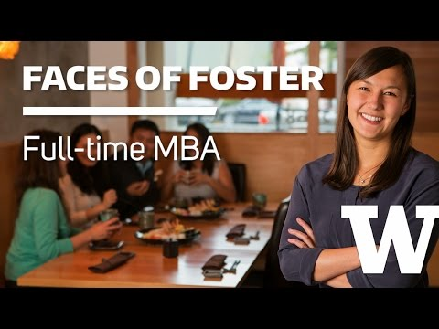 Friendly, inclusive Foster MBA culture embraces international student