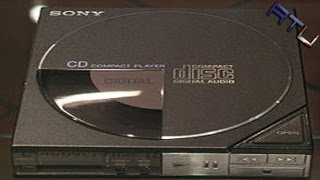 World's First Portable CD Player (Sony D-5A)