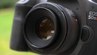 dRTV по-русски: Обзор Canon 50mm f/1.8 STM