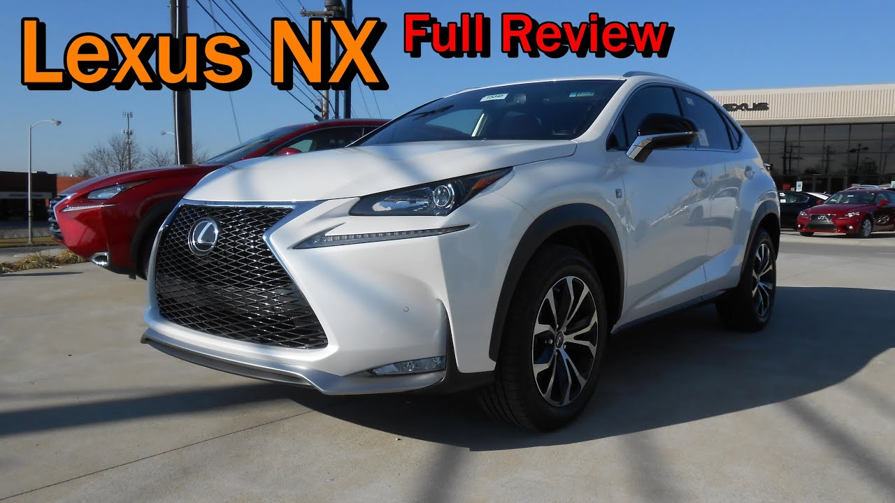 Lexus Nx 300h Sport 2015 Lexus Nx 200t F Sport And 300h Full Review Youtube