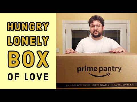 prime-pantry-food-shipment-unboxing---hungry-lonely-guy's-box-of-love