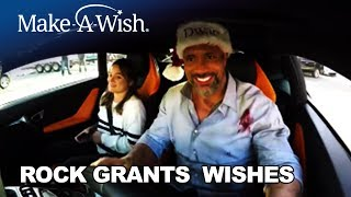 The Rock Grants Wishes to 3 Teenagers   Make-A-Wish