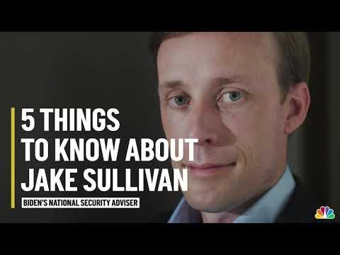 5 Things to Know About Jake Sullivan, Biden's National Security Adviser | NBC10 Philadelphia