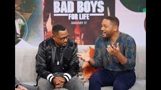 What Are Thoooose??? Bad Boy Buddies Will Smith And Martin Lawrence Go Sneaker Shopping With Complex