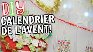 DIY CALENDRIER DE L'AVENT!