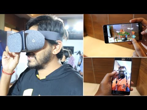 World's First Smartphone with Google Tango & DayDream With Demo [Asus Zenfone AR]