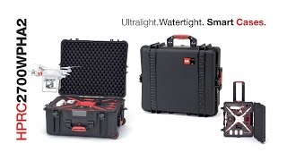 HPRC 2700WPHA2 Hard Case For DJI Phantom 2