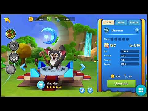 DreamWorks Universe Of Legends Maurice And Marty 5 Star Hero UNLOCK!!!