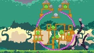 Angry Birds Friends Pig Tales Level 24 Walkthrough 3 Star - Facebook