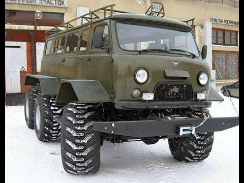 #735. UAZ 452 6x6 Tuning [RUSSIAN CARS]