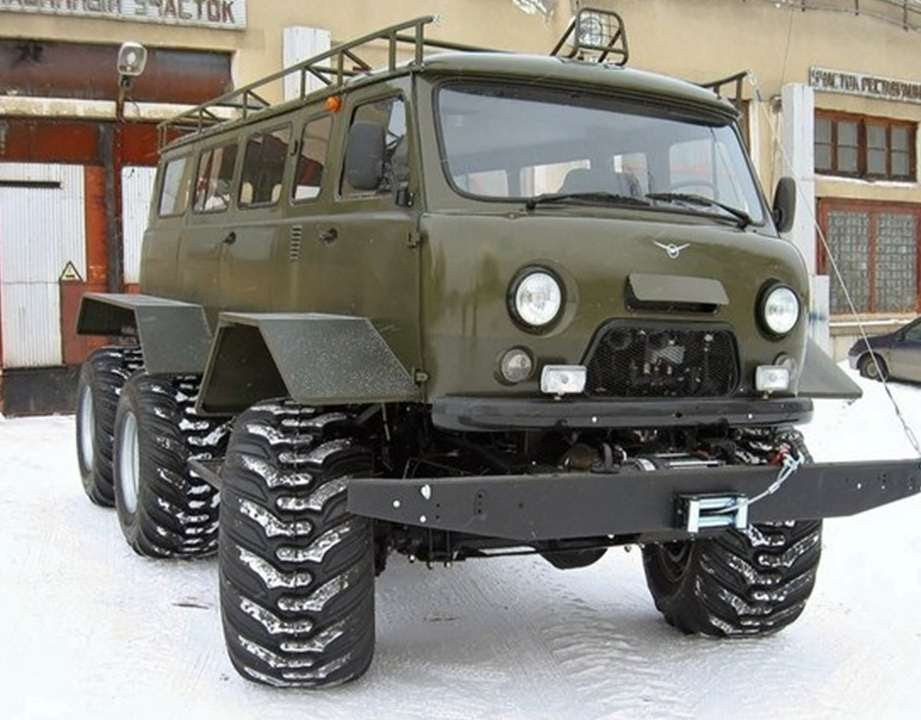 735 uaz 452 6x6 tuning russian cars youtube. Black Bedroom Furniture Sets. Home Design Ideas