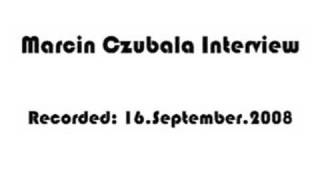 Marcin Czubala on RT-Tranmissions 2008/09/16