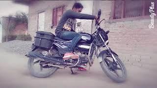 Vikash  super splendor bike turn