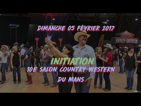 We Are Not Crazy, initiation au 10e salon country western du Mans, dimanche 05 février 2017