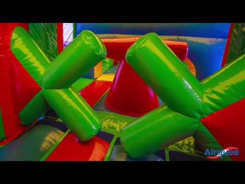 Airquee's 3 Part Energy Assault Course AQ5635