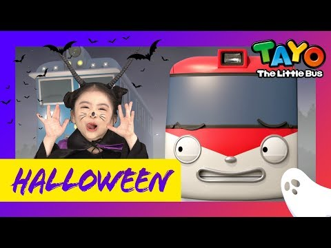 Go! Halloween Train Go! l Titipo Opening Song l Halloween song for Kids l TITIPO TITIPO