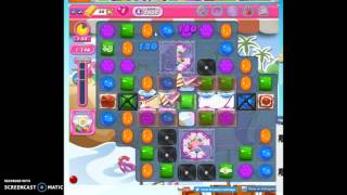 Candy Crush Level 1632 help w/audio tips, hints, tricks