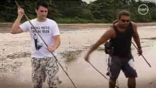 Aboriginal Crab Hunting - Cooya Beach in Far North Queensland