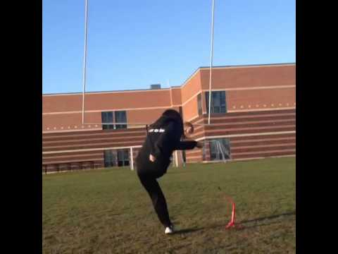 Nicole Myint Field Goal Kick 25 Yards