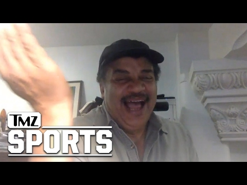 Neil deGrasse Tyson Rips Kyrie Irving's Flat Earth Nonsense | TMZ Sports