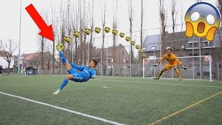 EXTREME BICYCLE KICK FOOTBALL CHALLENGE!! BEST GOALS RECREATED #20