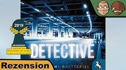 Detective (nominiert zum Kennerspiel des Jahres 2019) - Brettspiel - Review