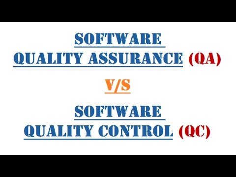 Software Quality Assurance (QA) v/s Quality Control (QC) : Definition | Comparison | Approach