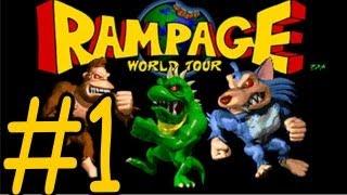 Rampage World Tour Walkthrough Part 1