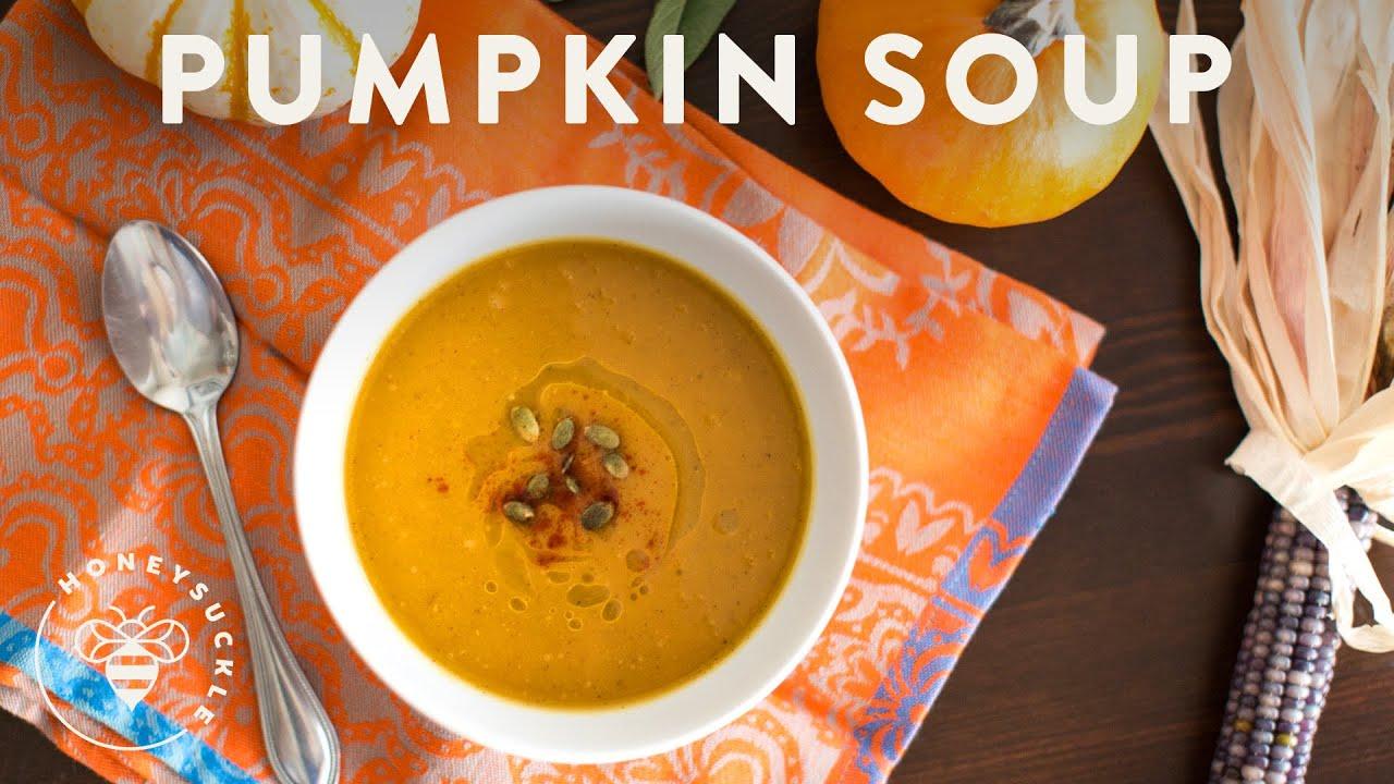 Roasted pumpkin soup a pumpkin collaboration with friends youtube roasted pumpkin soup a pumpkin collaboration with friends forumfinder Images