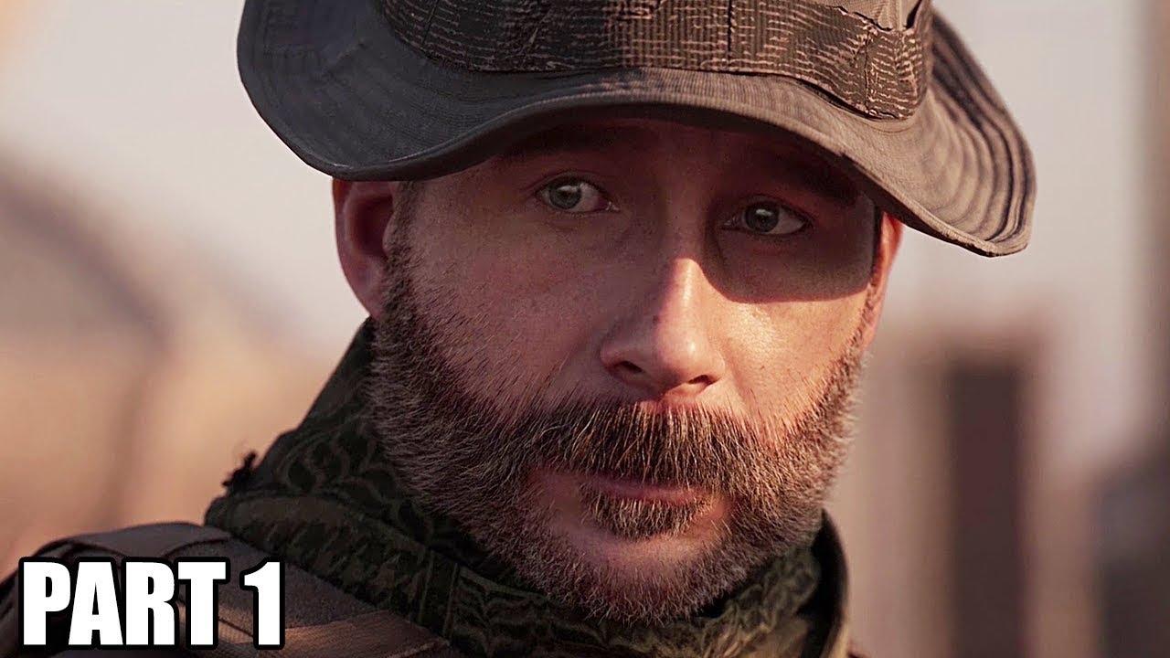 Parte 1 da gameplay da campanha MODERNA WARFARE - INTRO (Call of Duty Modern Warfare) + vídeo