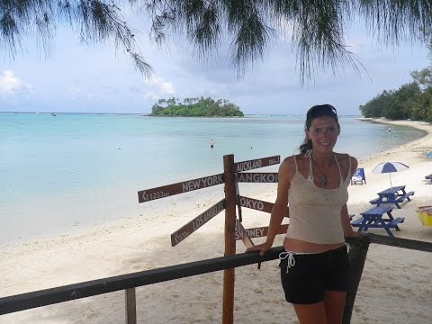 Westsail 32 sailing around Cook Islands, South Pacific, Rarotonga, Episode 9