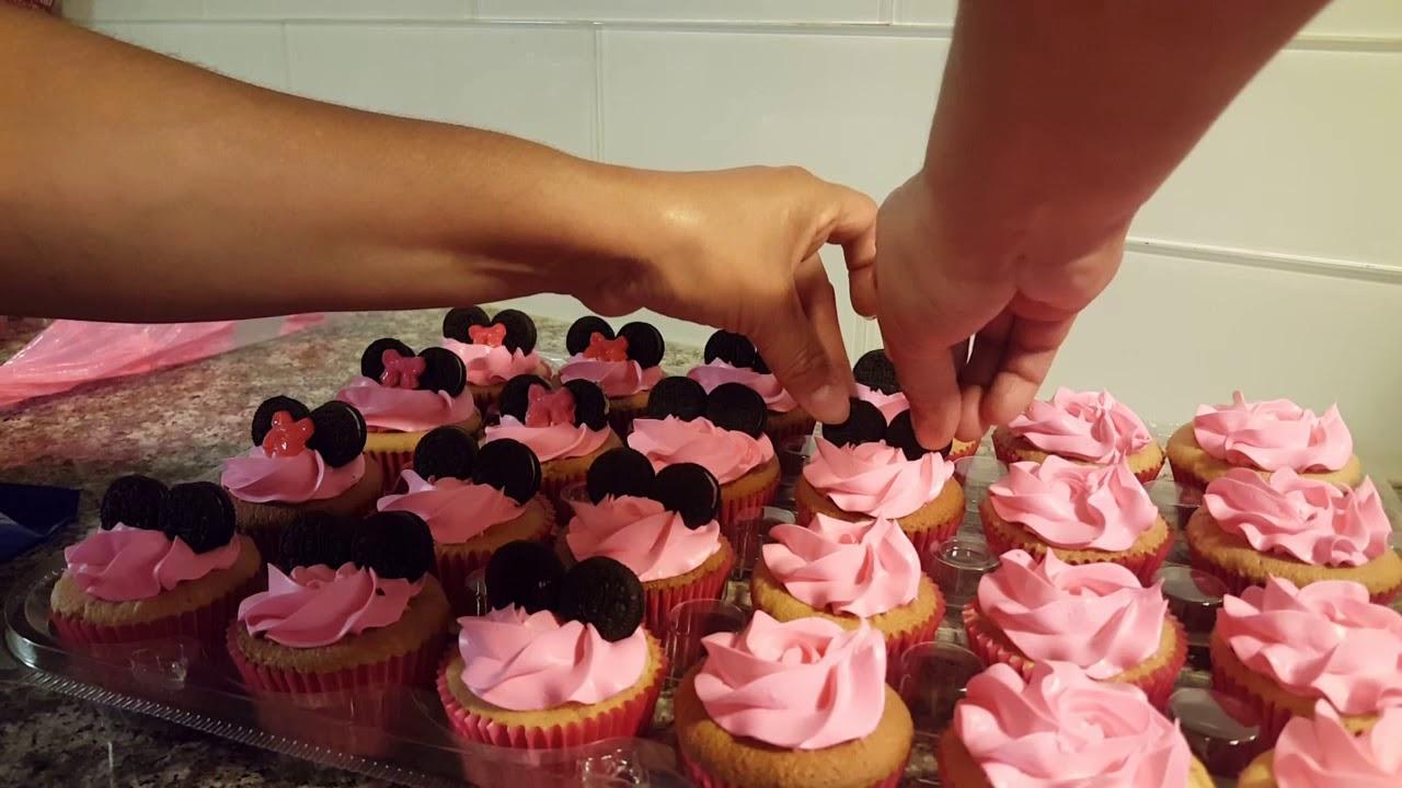 Cupcakes Minnie Mouse Para Negocio