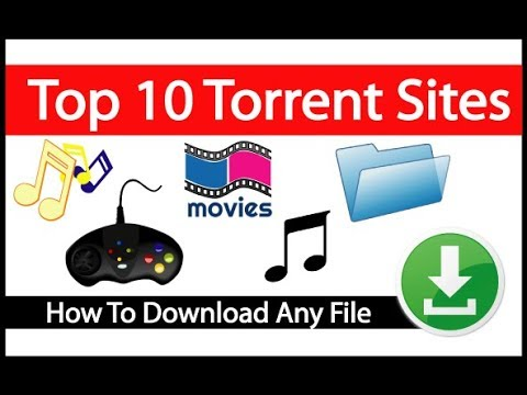 Top 10 Torrent Sites [Download movies   software   music   Game & Etc]