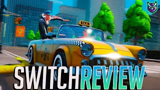 Taxi Chaos Switch Review - Crazy Enough? (Video Game Video Review)