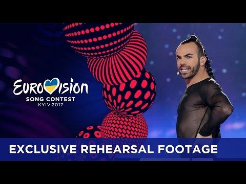 Slavko Kalezić - Space (Montenegro) EXCLUSIVE Rehearsal footage