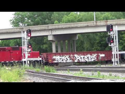 Railfanning La Crosse, WI 6-20-17