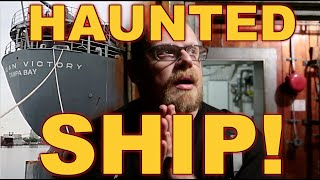 (REAL HAUNTING ON A GHOST SHIP) Incredible Paranormal Activity CAUGHT ON CAMERA!