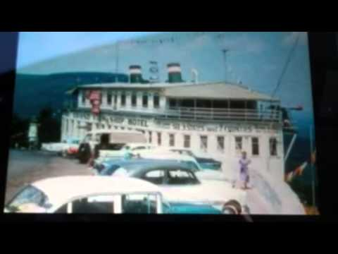 SS Grandview Ship Hotel Bedford Shellsburg PA Then & Now