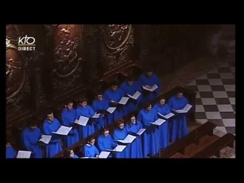 Cantique de Jean Racine - Notre Dame de Paris - 08/02/2015