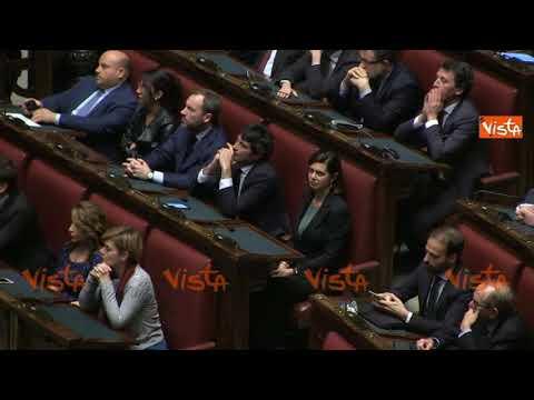 Discorso Camera Boldrini : Laura boldrini applaude il discorso del suo successore roberto fico