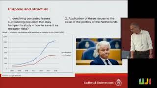«Myths of populism», by Bertjan Verbeek (Radboud University)