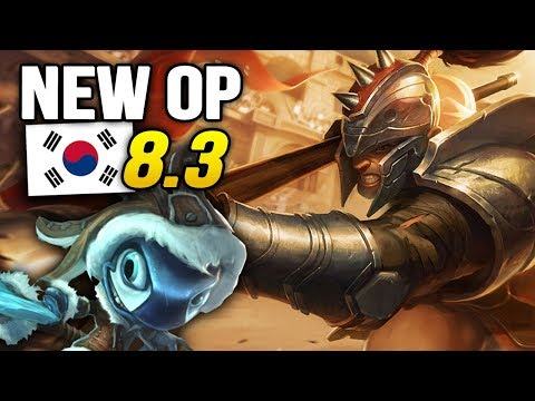 8 New OP Builds and Champions in Korea Patch 8.3 SO FAR (League of Legends)