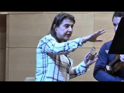 Nadja Salerno-Sonnenberg Violin Masterclass 1/14/2015