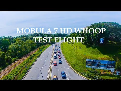 HD Whoop  Mobula 7 outdoor Test Flight