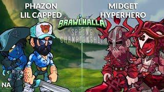 Phazon & Lil Capped vs Midget & HyperHero - NA 2v2 Losers Finals (Top 3) - Spring Championship