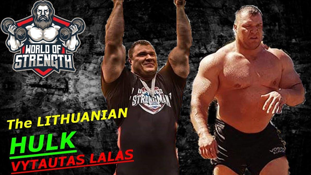 Download The LITHUANIAN HULK VYTAUTAS LALAS !!