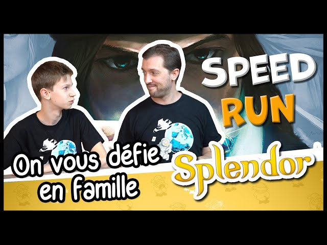 On vous défie sur un Speed Run Splendor (Entre parenthèses #1)