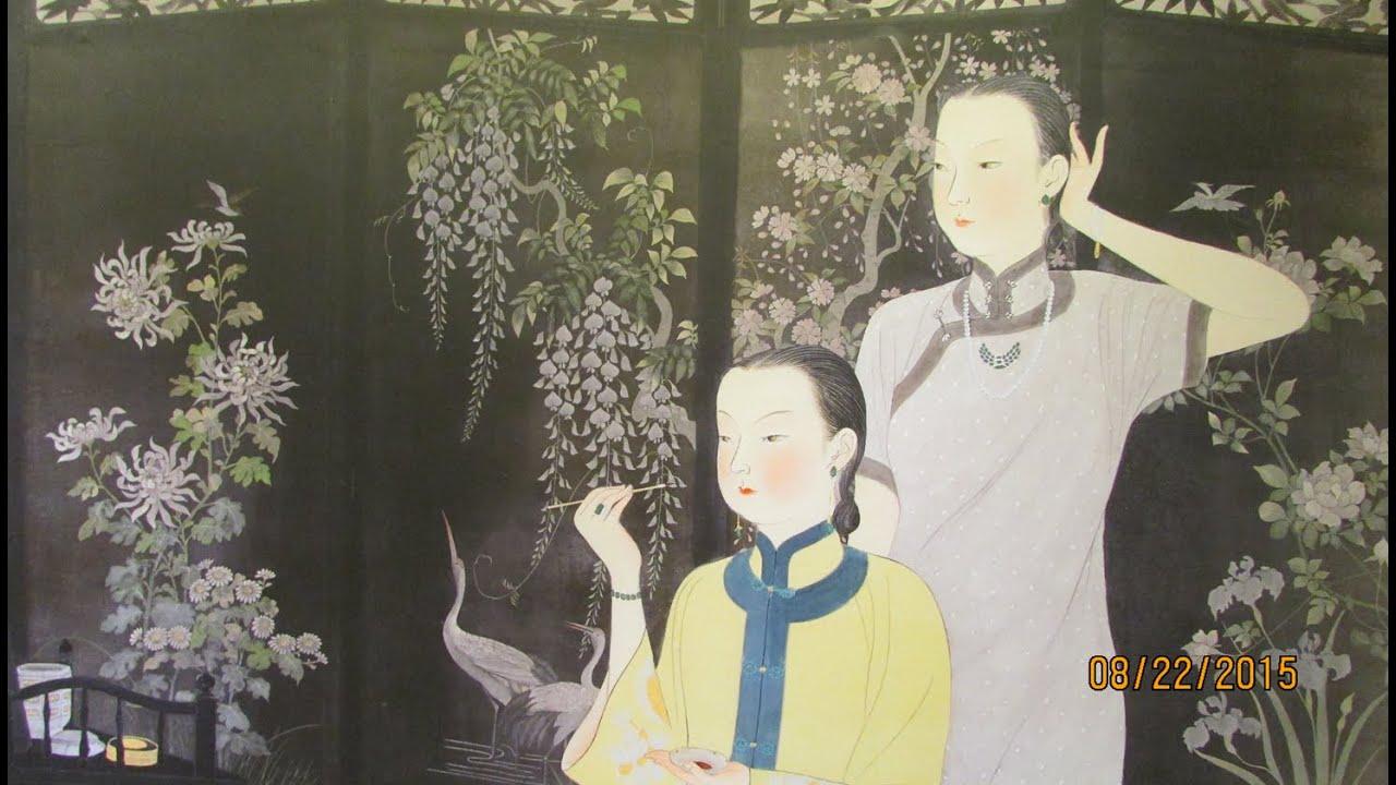 臺灣第一位女畫家 - 陳進 -畫粧摩登 畫展於臺北歷史博物館 - YouTube