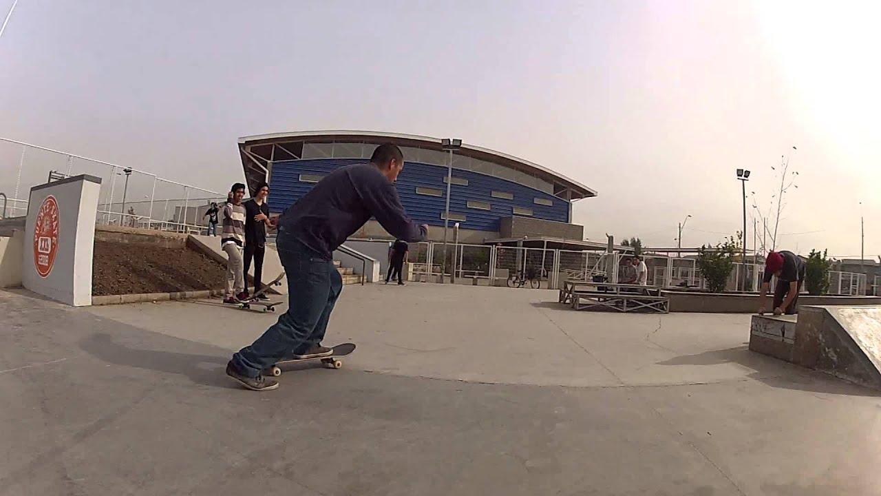 Linea en Puente Skate (HD)