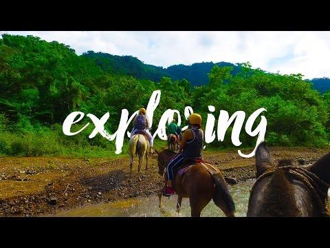 MOUNTAIN HORSEBACK RIDING IN COSTA RICA / Travel Vlog / Villas Channel